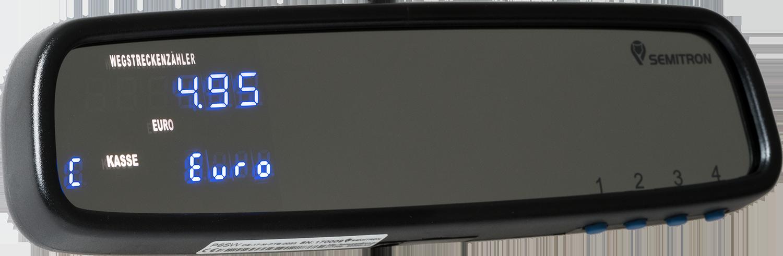 Produktbild Spiegelwegstreckenzähler P6SW