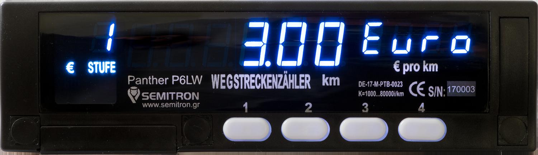 Produktbild Wegstreckenzähler P6LW