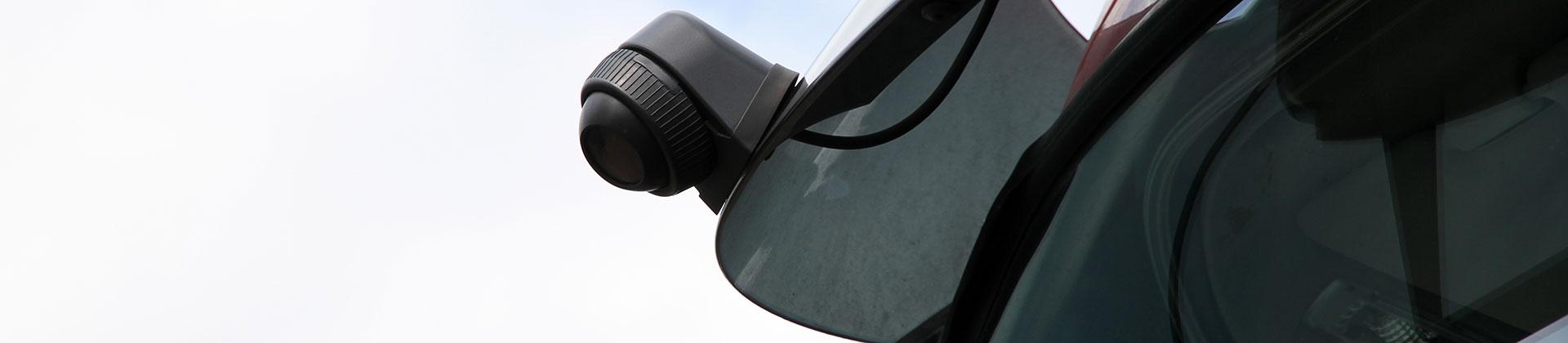 Orlaco Frontview Kamera an einem LKW